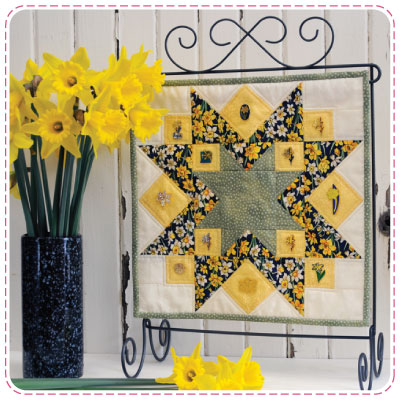 Daffodil Day Quiltlet