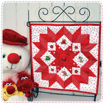 Red Nose Day Quiltlet