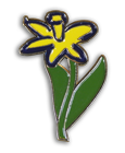 Daffodil Day Badge