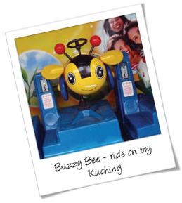 Ride On Buzzy Bee Toy