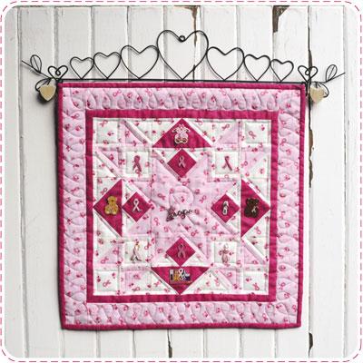 Pink Ribbon Quiltlet