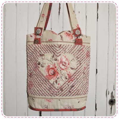 Heart Chenille Bag Picture