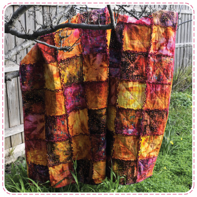 Firefly Raggy Quilt
