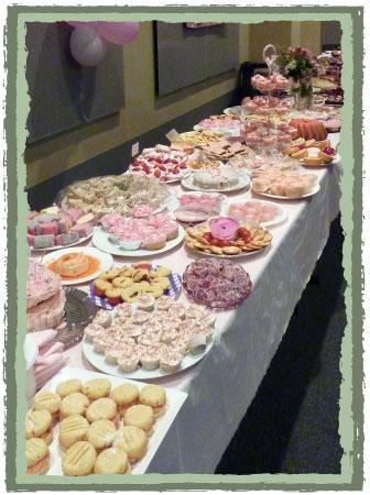 Pink Ribbon Morning Tea Food Ideas