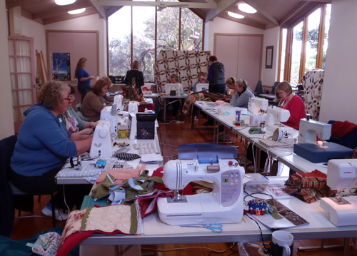 Panton Hill Quilting Day