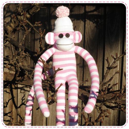 Minkee Sock Monkey