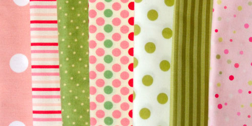 Spots and Stripe Fabric