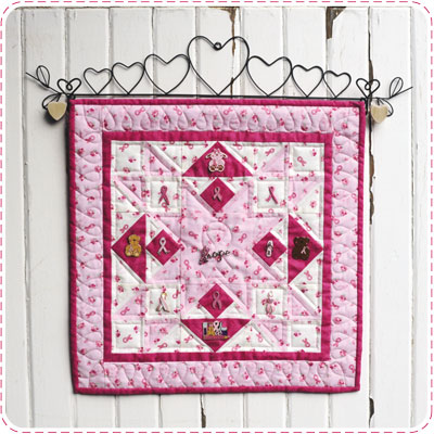 Breast Cancer Pin Quiltlet