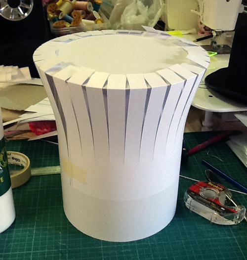 How to make a mad hatters hat for Top gun hat template